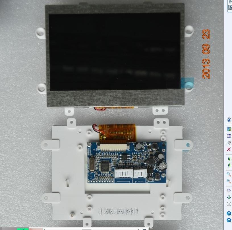 供应高清4.3寸数字液晶模组