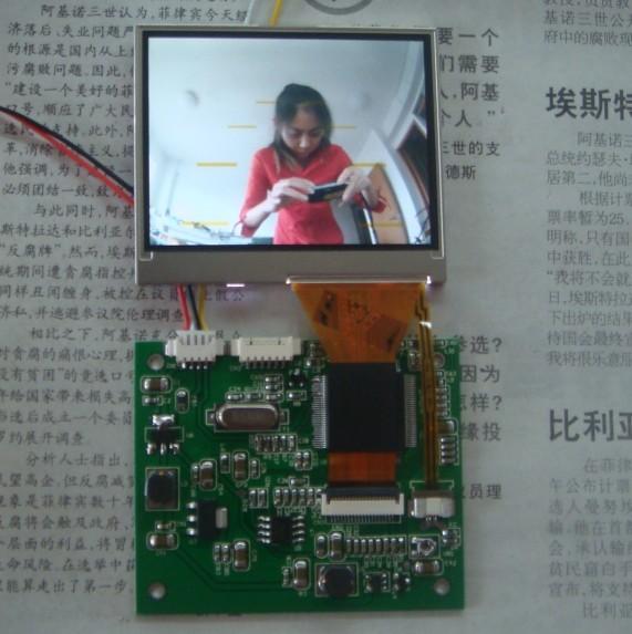 供应工业内窥镜2.5寸数字液晶模组