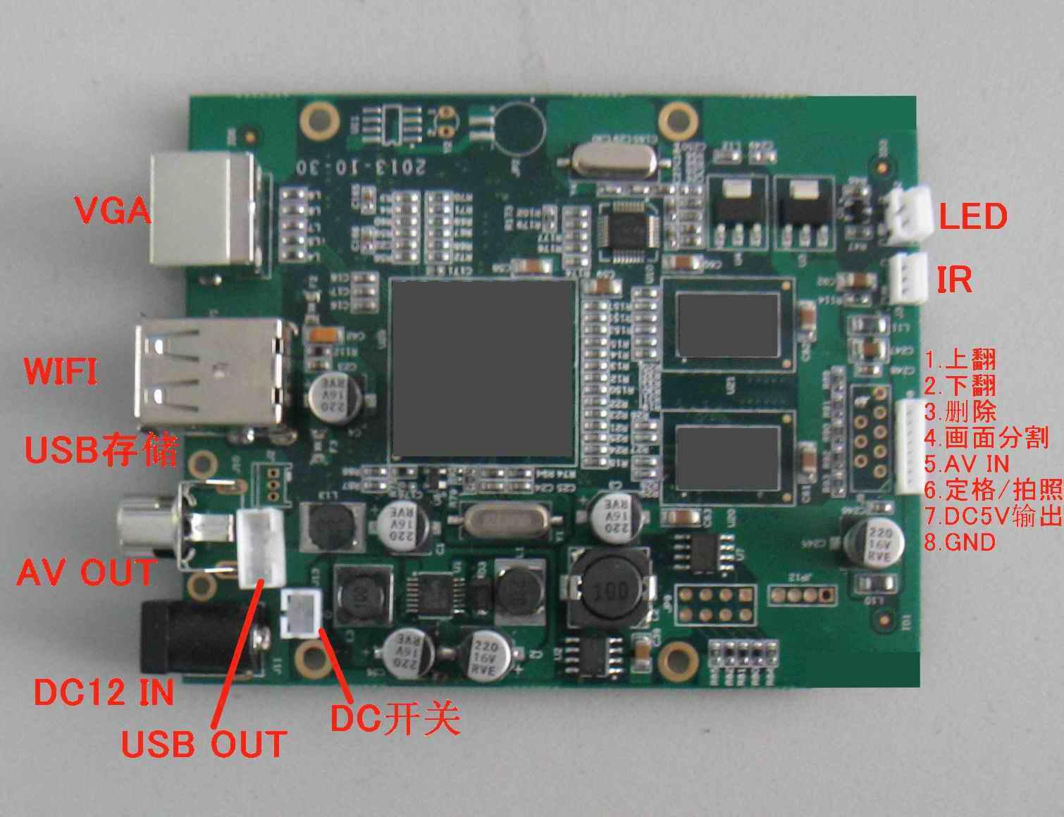 供应高清AV信号无线WIFI传输模块